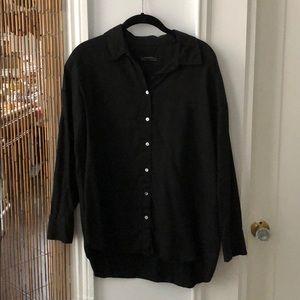 Zara Oversized Button-up Shirt